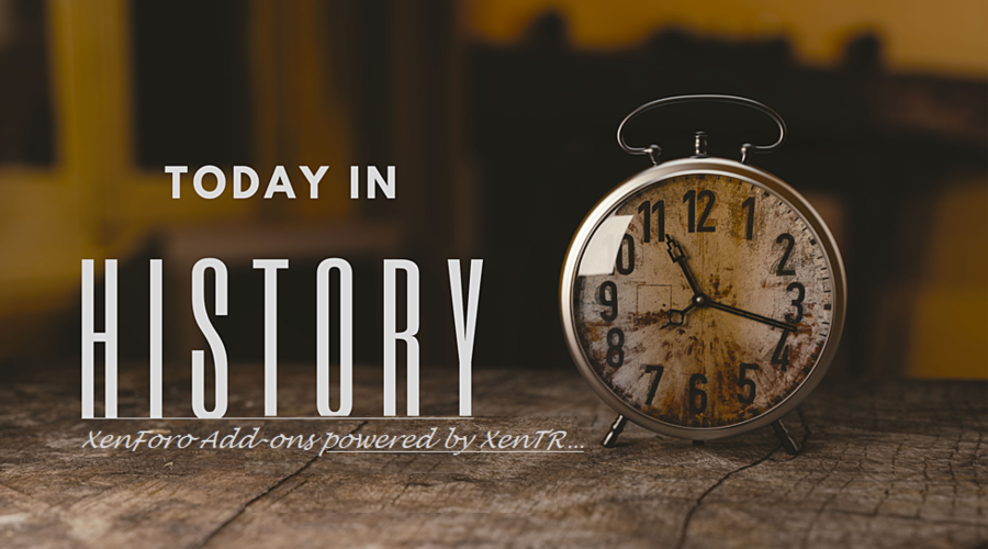 [XTR] Today in History